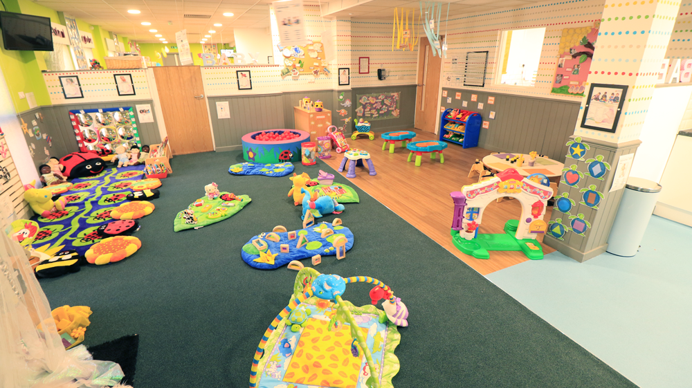 The willows day nursery preschool evolution childcare for Activity room decoration
