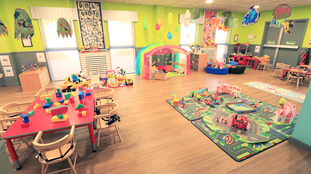 Day Nursery Baby Room Activities